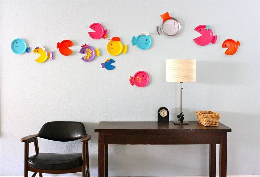 Как украсить детскую комнату своими руками: идеи декора и оформления интерьера (фото)