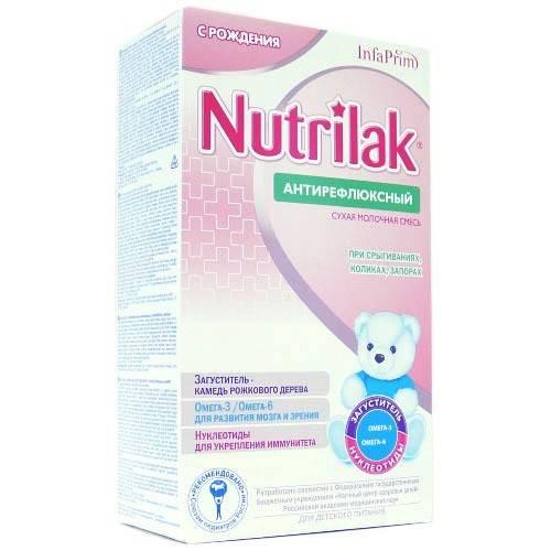 Антирефлюксные смеси для новорожденных